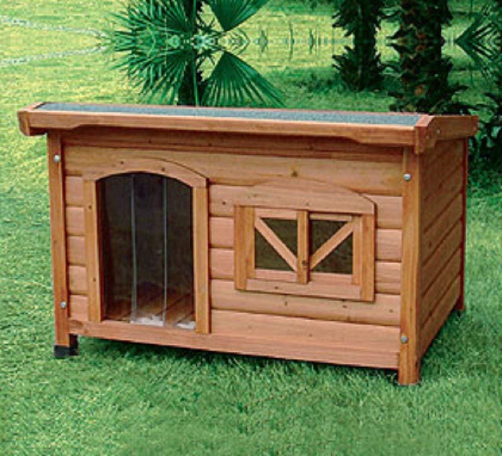 Cuccia con tetto apribile 107x68xh66 5 cm cucce per cani - Cuccia per cani interno ...