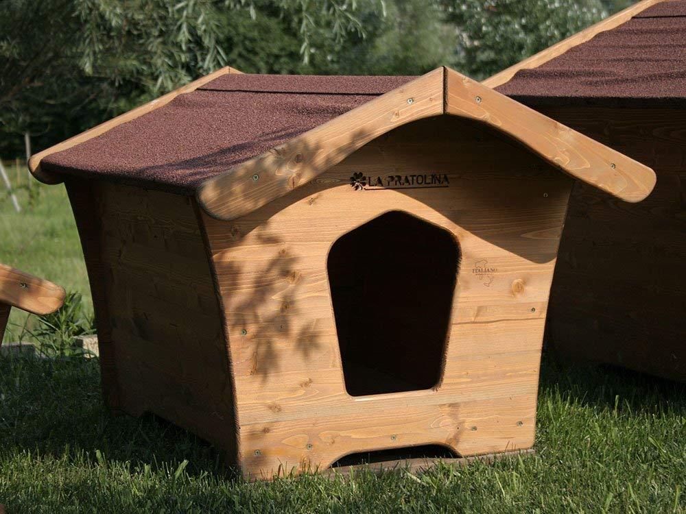Cuccia di legno per cane di taglia grande 114x92x120 cm for Cucce da interno per cani taglia grande