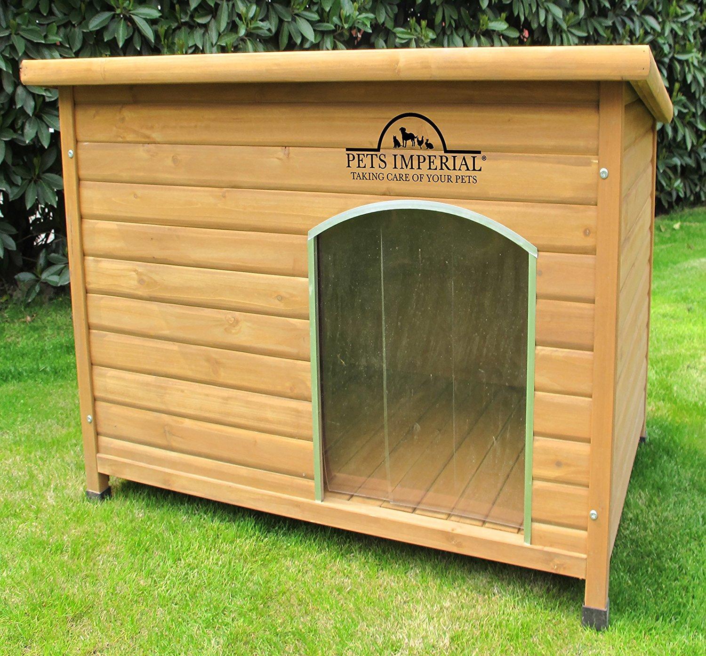 Cuccia in legno 104x66x70 cm per cani grandi cucce per cani for Cucce per cani da esterno coibentate